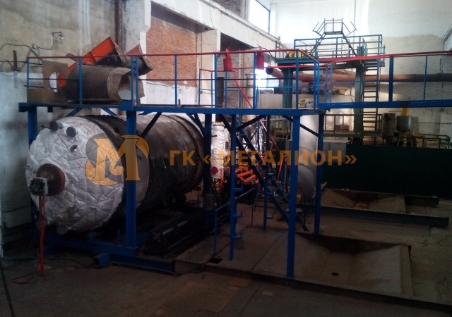 Pyrolysis unit for waste recycling - photo 1