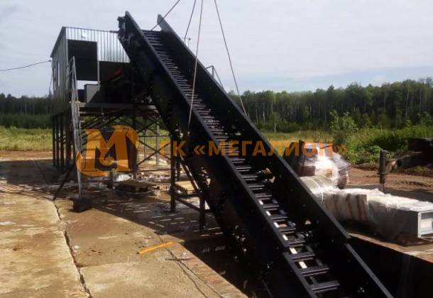 Installation of a MSW sorting line, Kambarka, Republic of Udmurtia, 2020 - photo 0