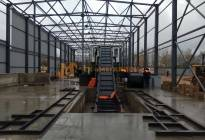 Installation of waste sorting facility, Slonim, Republic of Belarus, 2017 - photo 2
