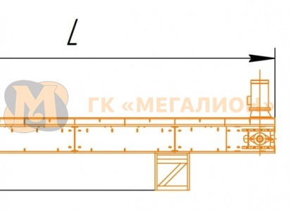 Sorting belt conveyors - схема 1
