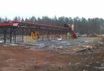 Construction of waste sorting facility, Bratsk, 2016 - photo 10