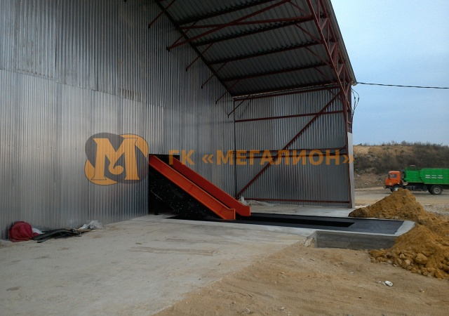 Waste sorting facility with productivity up to 30 thousand tons of MSW per year (variant) - photo 4
