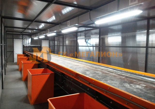 Sorting belt conveyors - photo 1